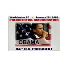 Funny 44th president Rectangle Magnet (100 pack)