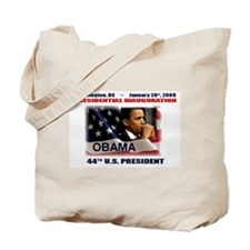 Funny 1.20.09 obama Tote Bag