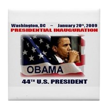 Funny Obama won Tile Coaster