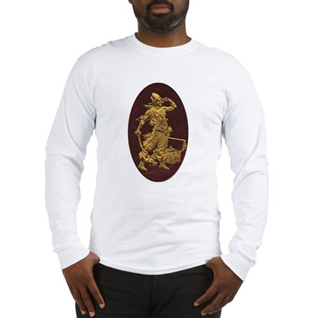 Gold Leaf Pirate Long Sleeve T-Shirt
