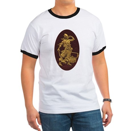 Gold Leaf Pirate Ringer T