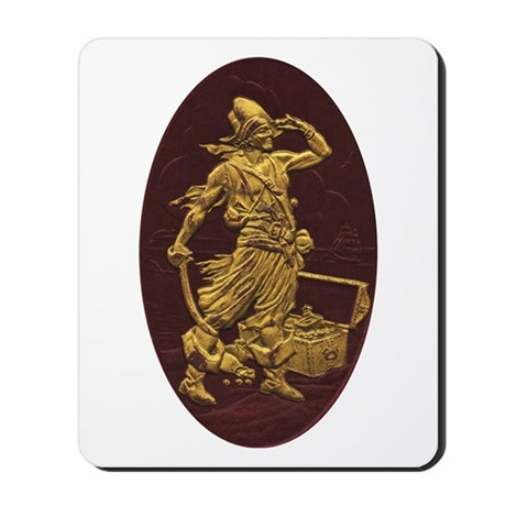 Gold Leaf Pirate Mousepad