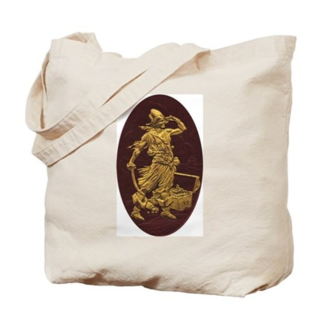 Gold Leaf Pirate Tote Bag