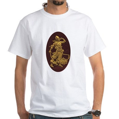 Gold Leaf Pirate White T-Shirt