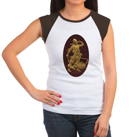 Gold Leaf Pirate Women's Cap Sleeve T-Shirt