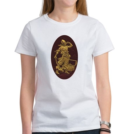 Gold Leaf Pirate Women's T-Shirt
