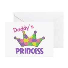 Autistic Princess 3 Greeting Cards (Pk of 20)