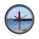Michigan Lighthouse Wall Clock
