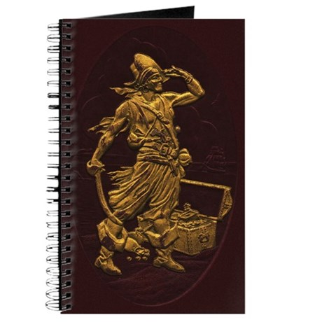 Gold Leaf Pirate Journal