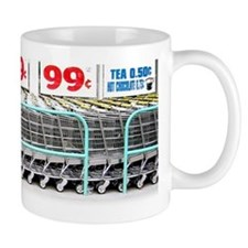 99 Cents Shopping Mall Coffee Mug