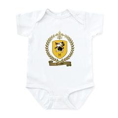 TOUSSIN Family Crest Infant Creeper