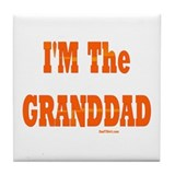 I'm The Granddad Tile Coaster