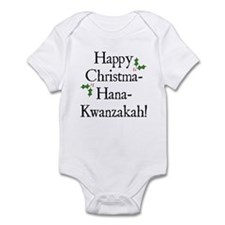 Happy Holiday Greeting Infant Bodysuit