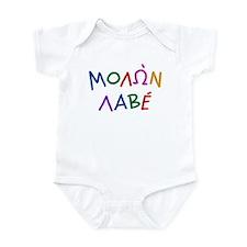 Molon Labe Jr: Infant Bodysuit