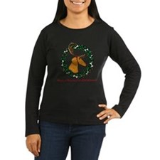 Red Weindeer Dacshund T-Shirt