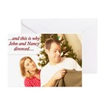 Why John and Nancy Divorced Cards (Pk of 20)