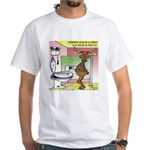 Reindeer Drug Tests White T-Shirt