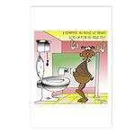 Reindeer Drug Tests Postcards (Package of 8)
