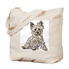 Silky Terrier (sketch) Tote Bag