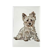 Silky Terrier (sketch) Rectangle Magnet