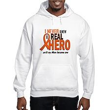 Never Knew A Hero 2 ORANGE (Mom) Hoodie