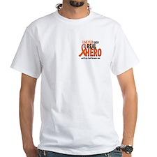 Never Knew A Hero 2 ORANGE (Dad) Shirt