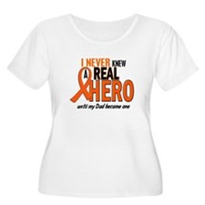 Never Knew A Hero 2 ORANGE (Dad) T-Shirt