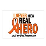 Never Knew A Hero 2 ORANGE (Dad) Postcards (Packag