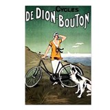 Bicycle Girl & Dog Postcards (Package of 8)