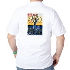 Vintage Bicycle Girl T-Shirt