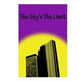 Sky's The Limit Postcards (Package of 8)