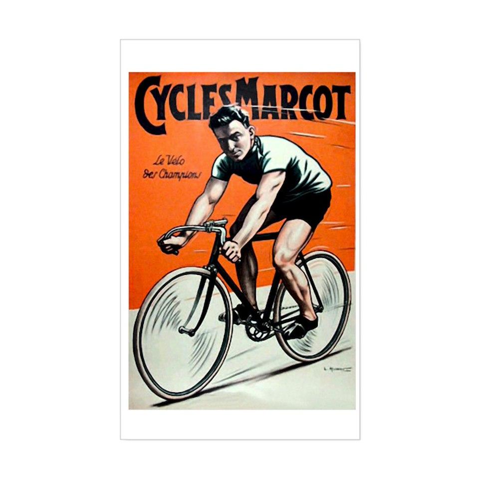 Vintage Bicycle Stickers 36