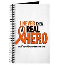 Never Knew A Hero 2 ORANGE (Mommy) Journal