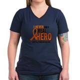 Never Knew A Hero 2 ORANGE (Daddy) Shirt