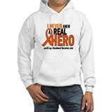 Never Knew A Hero 2 ORANGE (Husband) Jumper Hoody