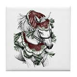 Holiday Horse Tile Coaster