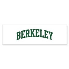 Berkeley (green) Bumper Sticker (10 pk)