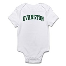 Evanston (green) Infant Bodysuit
