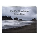 Pacific NW Coastlines Wall Calendar