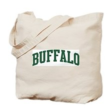 Buffalo (green) Tote Bag