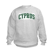 Cyprus (green) Sweatshirt