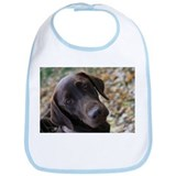 Chocolate Lab C Bib