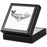 Vampires Rule Keepsake Box