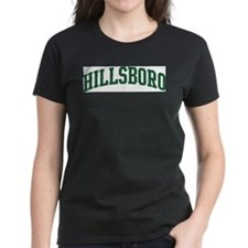 Hillsboro (green) Women's Dark T-Shirt