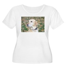 Yellow Lab #2 Portrait T-Shirt