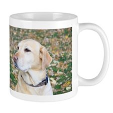 Yellow Lab #2 Portrait Mug