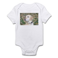 Yellow Lab #2 Portrait Infant Bodysuit
