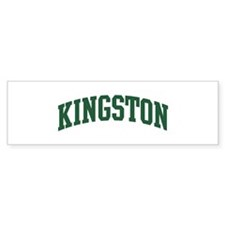 Kingston (green) Bumper Sticker (10 pk)