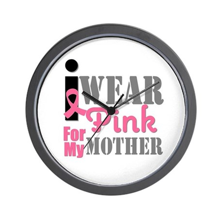IWearPink Mother Wall Clock