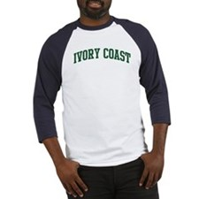 Ivory Coast (green) Baseball Jersey
